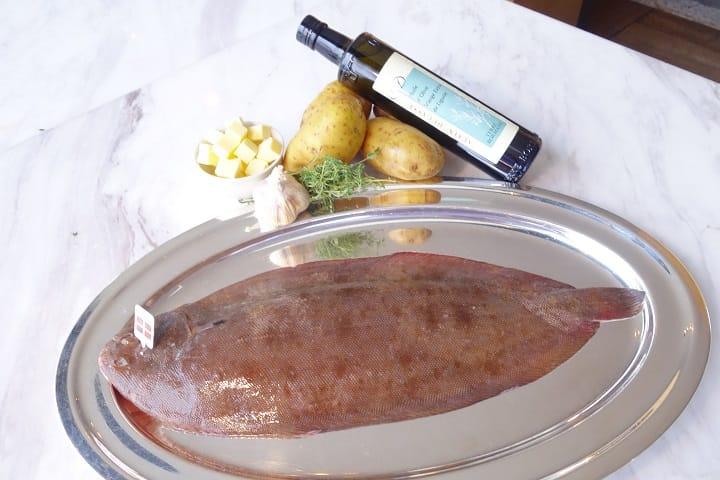 新鮮的魚,優質的配料,就是烹調這道菜最重要的元素。(攝影: 陳志雄)