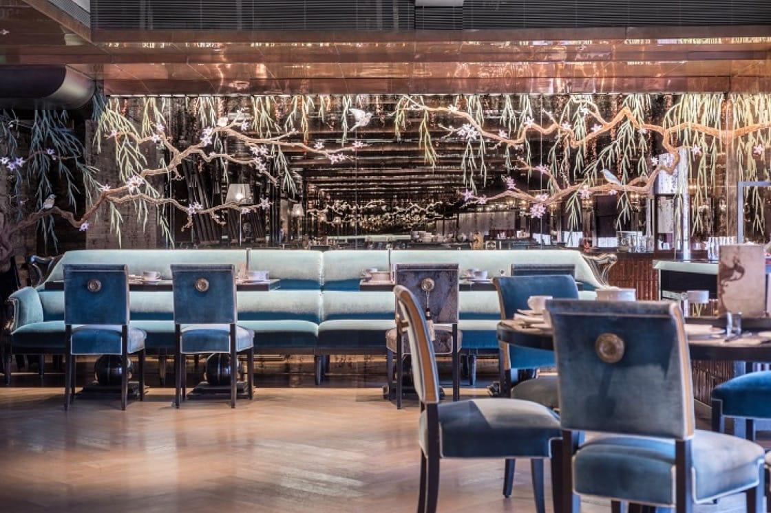 頤宮中餐廳在午、晚餐都有素食套餐可供選擇。(圖片:頤宮提供)