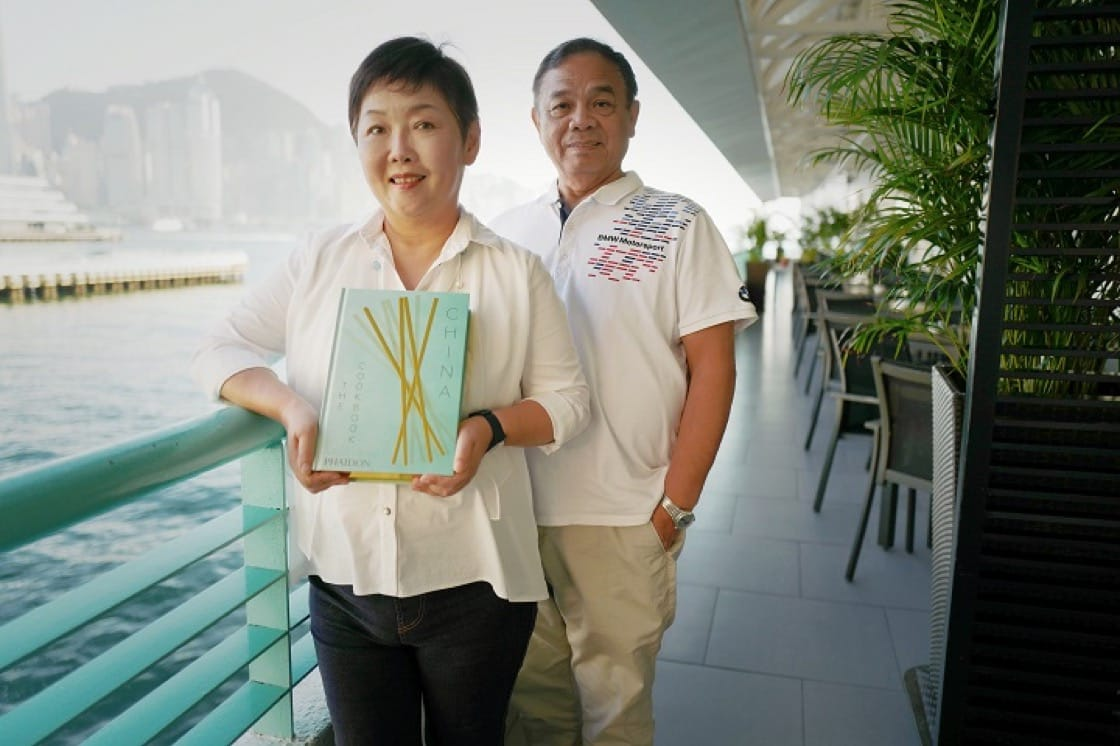 "Chan Kei Lum and Diora Fong, the accidental ""family cooks"" in the Chan household. The husband-and-wife team subsequently turned Chan Mong Yan's recipes into an internationally acclaimed book."