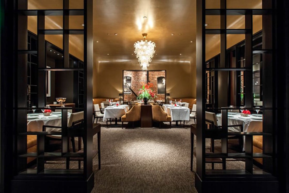 The interior of Quince. (Photo courtesy of Quince restaurant.)