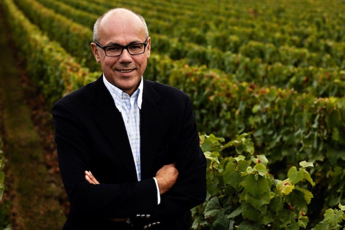 Krug's cellar master Eric Leibel