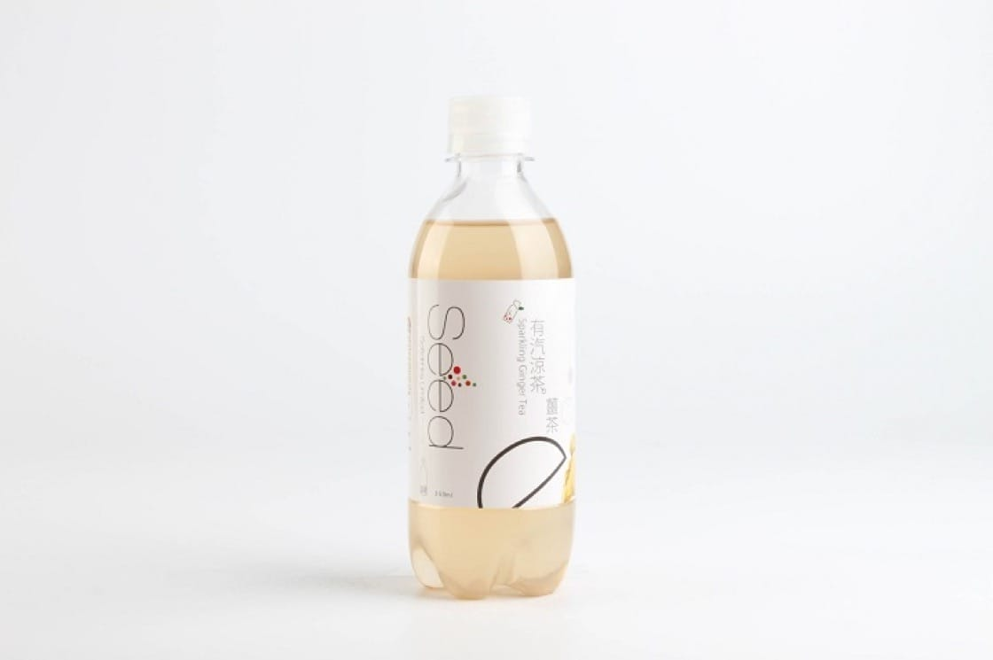 有汽薑茶涼茶,是萌芽在香港推出的嶄新產品。(圖片:被訪者提供)