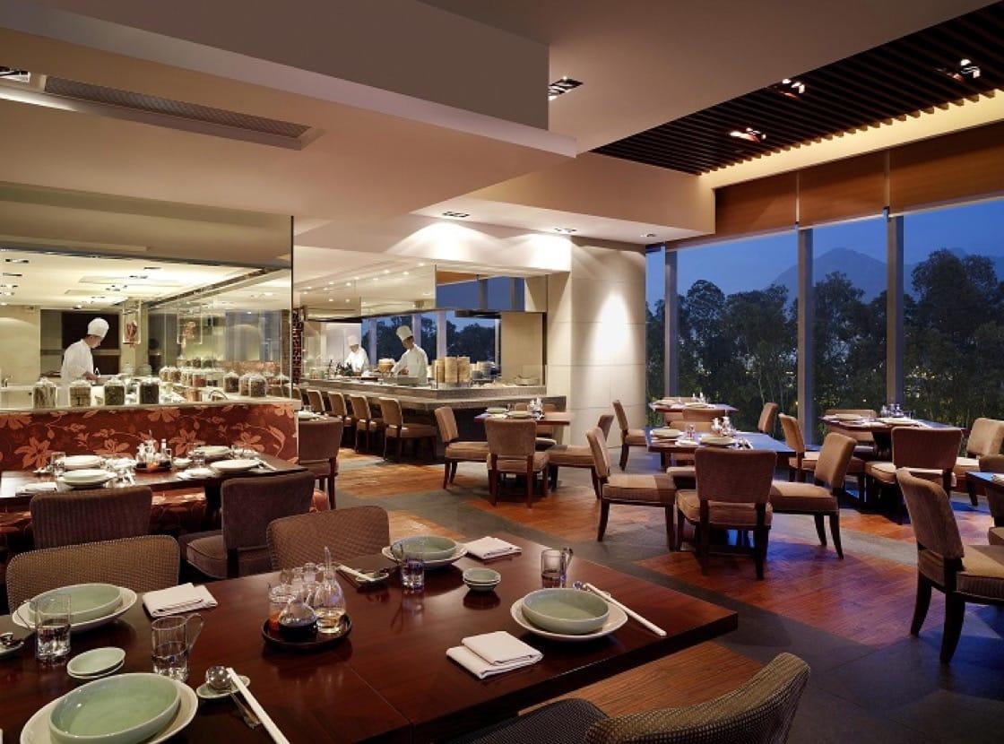 沙田凱悅酒店的自助餐備有中西美食,運動完吃最開懷。(圖片提供:沙田凱悅酒店)