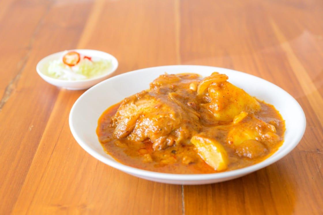 泰式瑪莎曼榴槤咖喱。