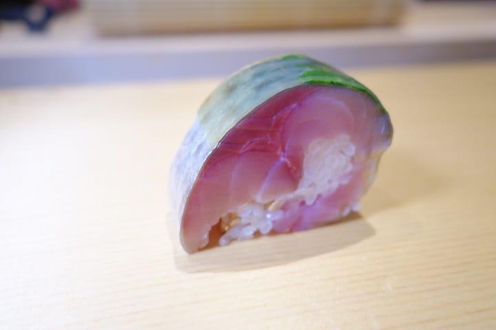 昆布漬鯖魚壽司(圖片:陳志雄)