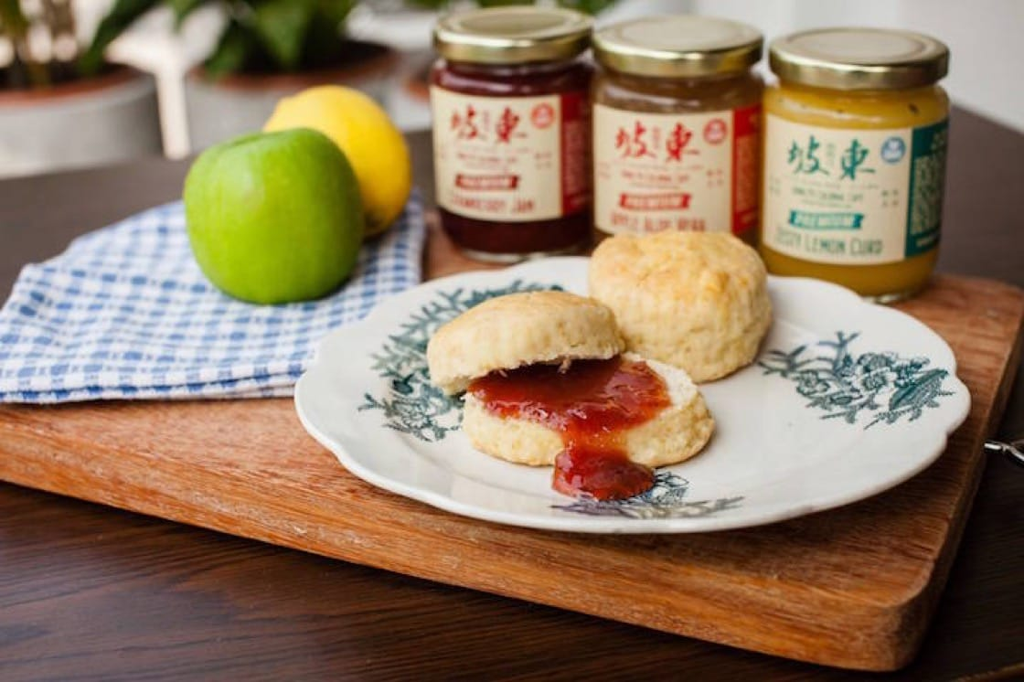 Scones at Dong Po Colonial Cafe (Pic: Dong Po Colonial Cafe Facebook)