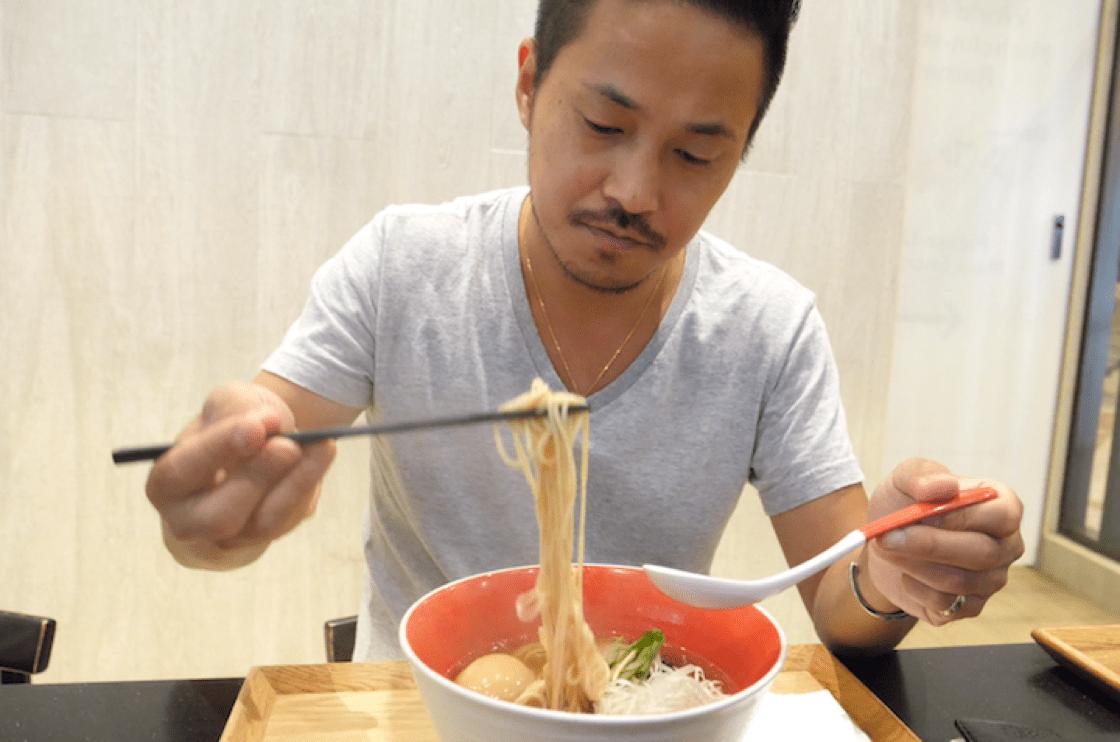Yuki Onishi, chef-owner of Michelin-recommended Tsuta