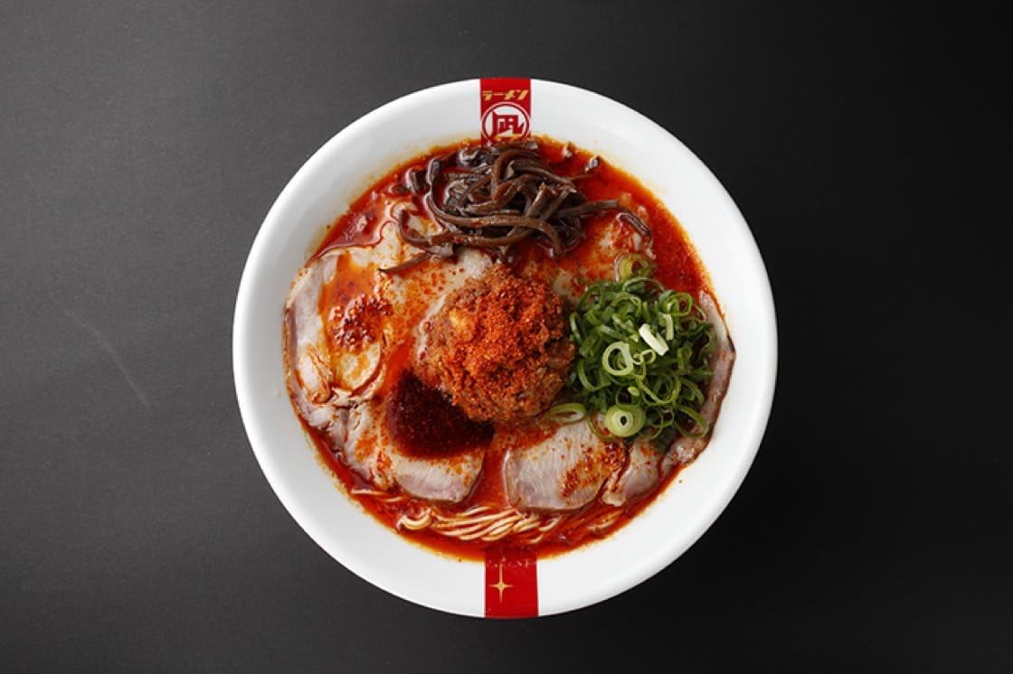 The Red King at Ramen Nagi. (Photo courtesy of Ramen Nagi.)