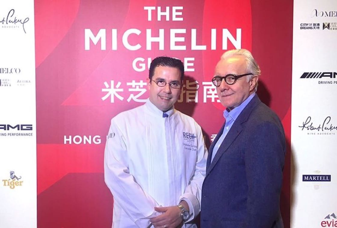 Renowned French chef Alain Ducasse (right) will open a restaurant in Raffles Hotel next year. (Credit: Ducasse Paris FB Page)