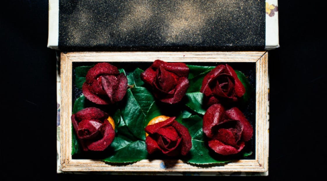 Beetroot Roses