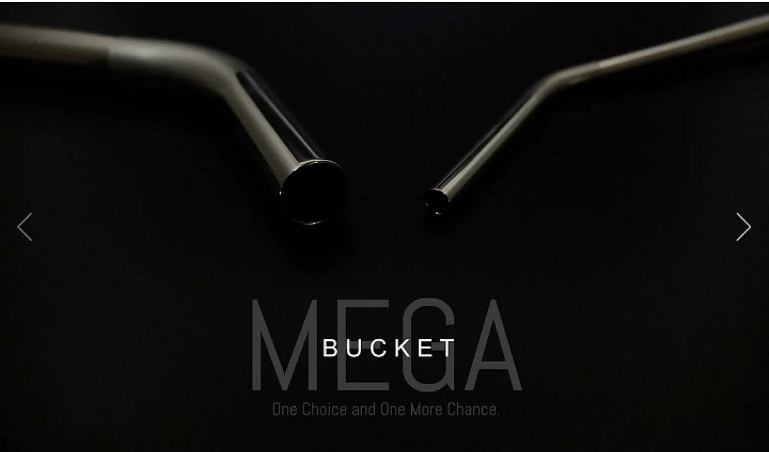 Bucket 設計的不鏽鋼飲管(圖片來源:Bucket 網頁)