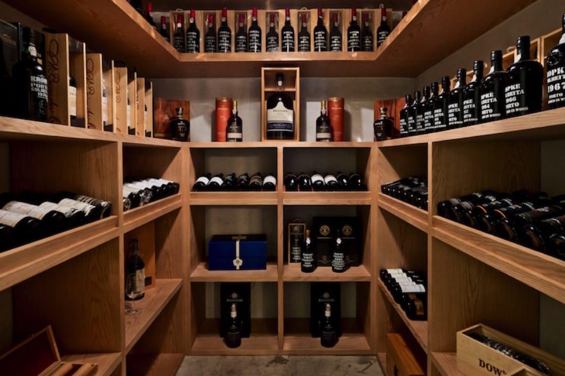 Ma Cuisine的砵酒與馬德拉酒室。(照片:Pierre Plassart)