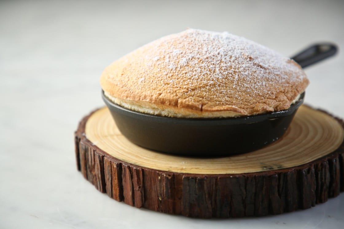 花生糖梳乎厘,是中西甜品文化交流。(圖片提供:COBO HOUSE)