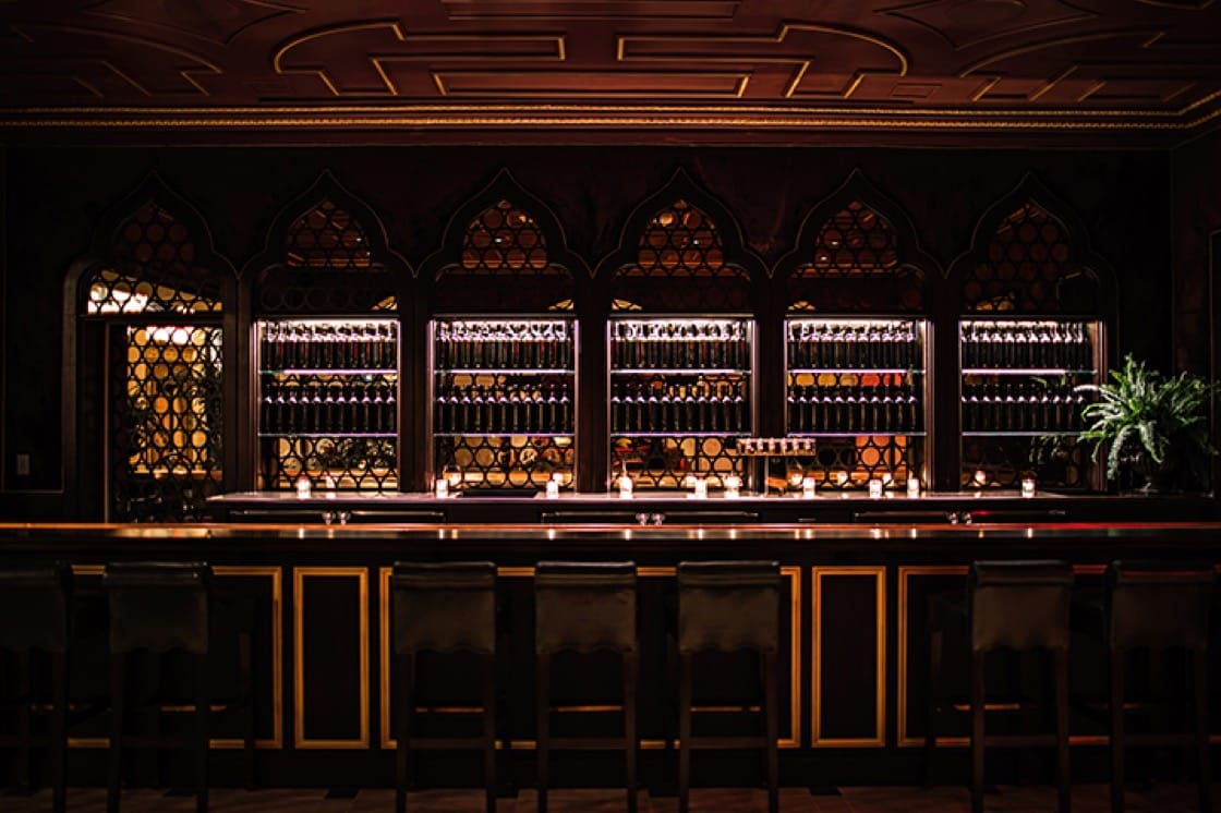 The Giannini Bar at the NoMad. (Photo by Benoit Linero.)