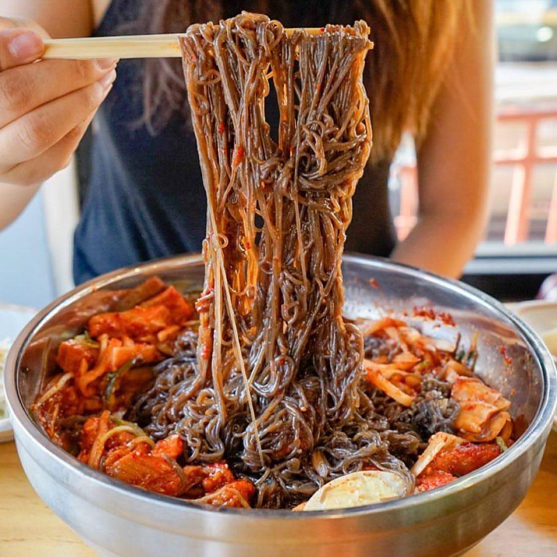 Buckwheat noodles at Yuchun. (Photo: Yuchun Facebook page.)