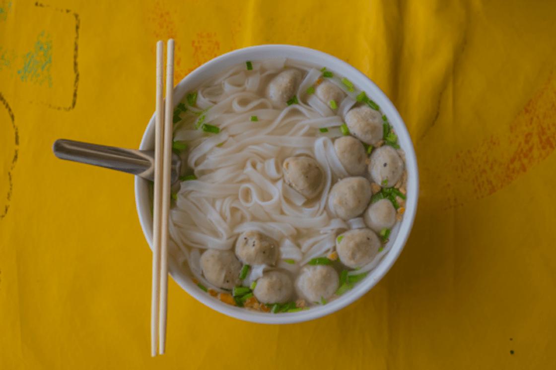 越南粉是米製成的。(圖片來源:Shutterstock)