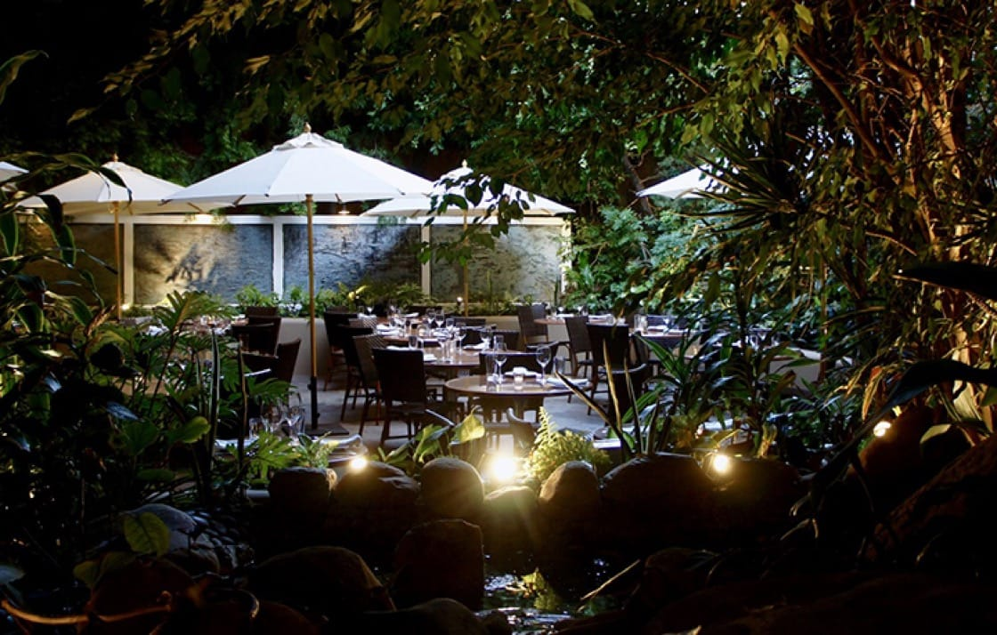 The outdoor patio at Michael's. (Photo courtesy of Michael's.)