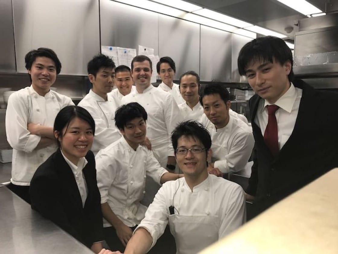 美食是Armstrong与日本团队的共同语言。(照片提供:Luke Armstrong)
