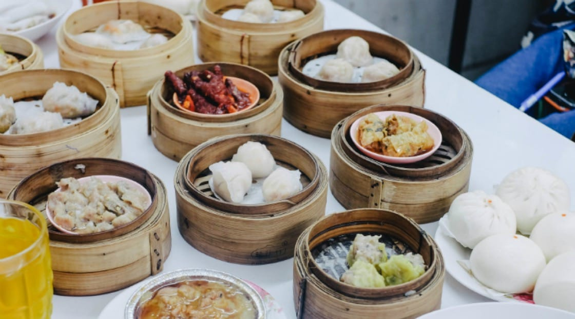 You can enjoy a variety of exquisite dim sums at Tuang Dim Sum restaurant. Photo credit: Hue Nguyen.