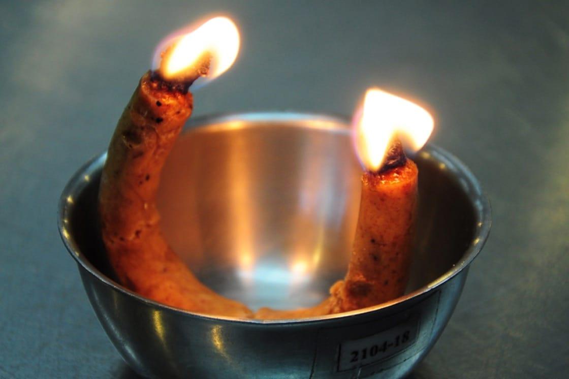 Tian op蠟燭在泰國被用於薰香甜食。(圖片:Shutterstock)
