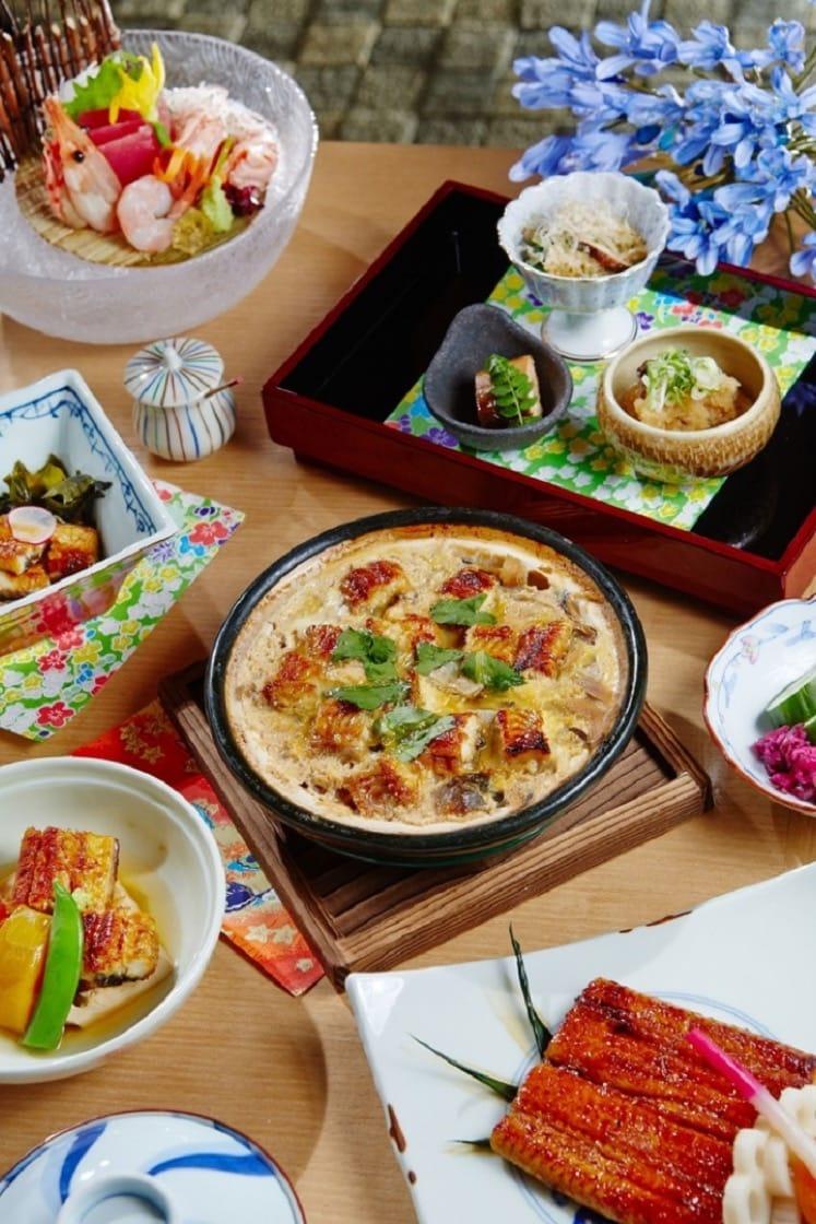大倉久和飯店忠於日式原味。圖為飯店附設,獲得米其林餐盤推薦的日式餐廳「山里」的料理。