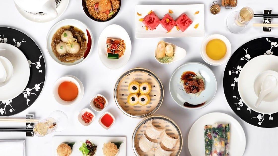 國金軒的早午餐十分豐富,混合中西元素。(圖片來源:國金軒)