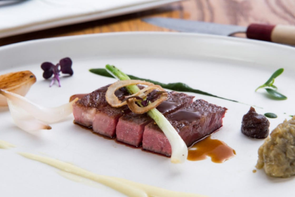 Hokkaido Kozatsu Beef at Elements (Pic: Elements)
