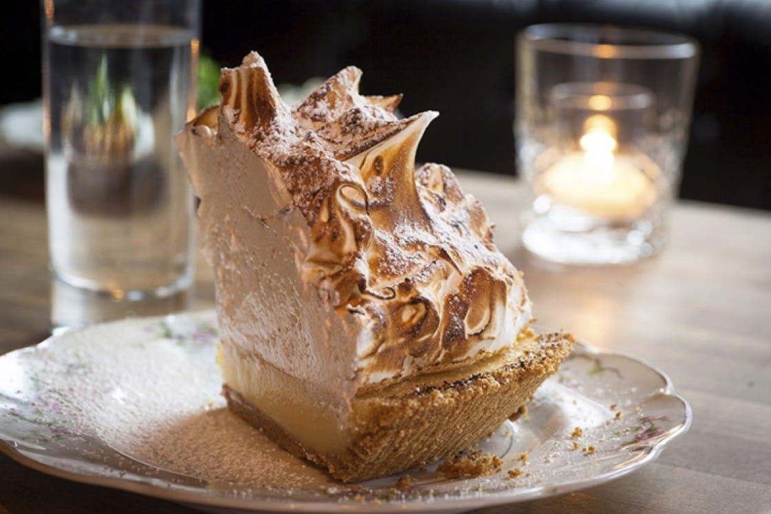 Lemon meringue pie at Gilt Bar. (Photo courtesy of Gilt Bar.)