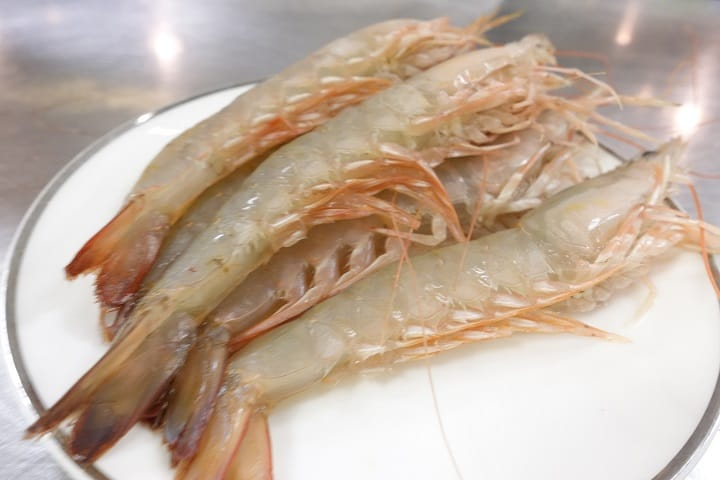 海中蝦體形較大,吃起來啖啖肉。(圖片:陳志雄)