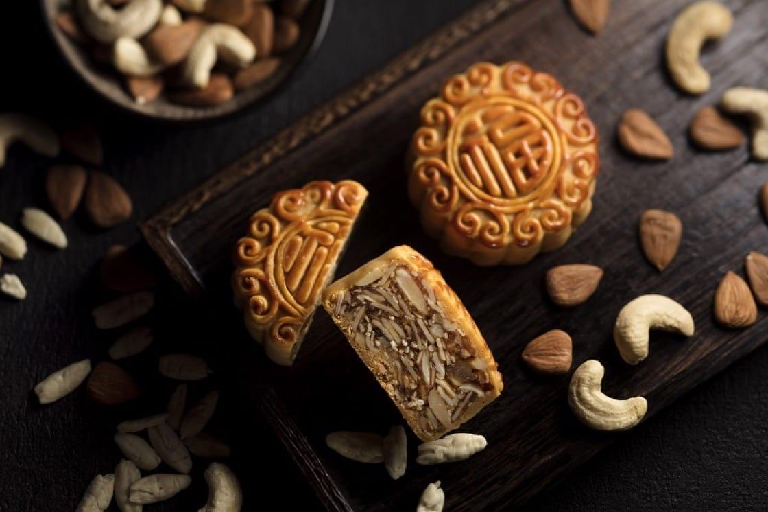 福臨門推出的五仁月餅,果子切得幼細,口感層次複雜。(圖片:福臨門)
