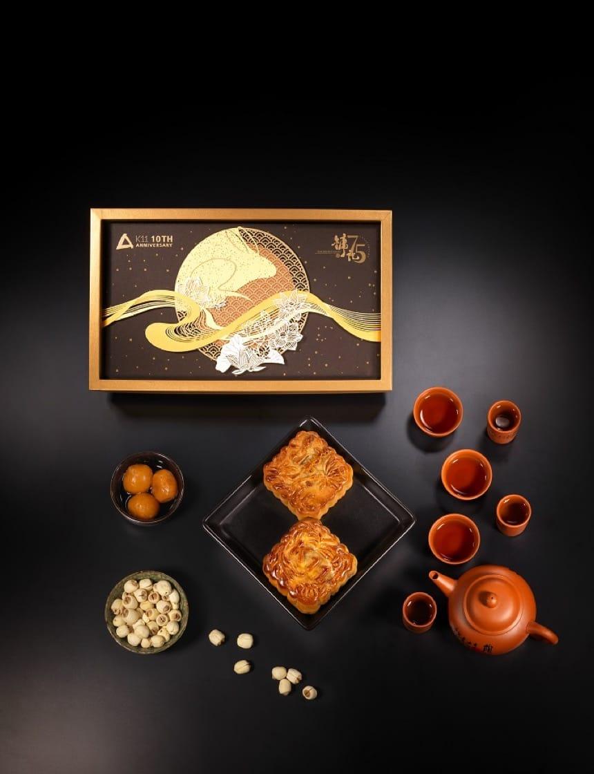 鏞記和K11合作,邀請了紙雕藝術家製作餅盒。 (圖片:鏞記)