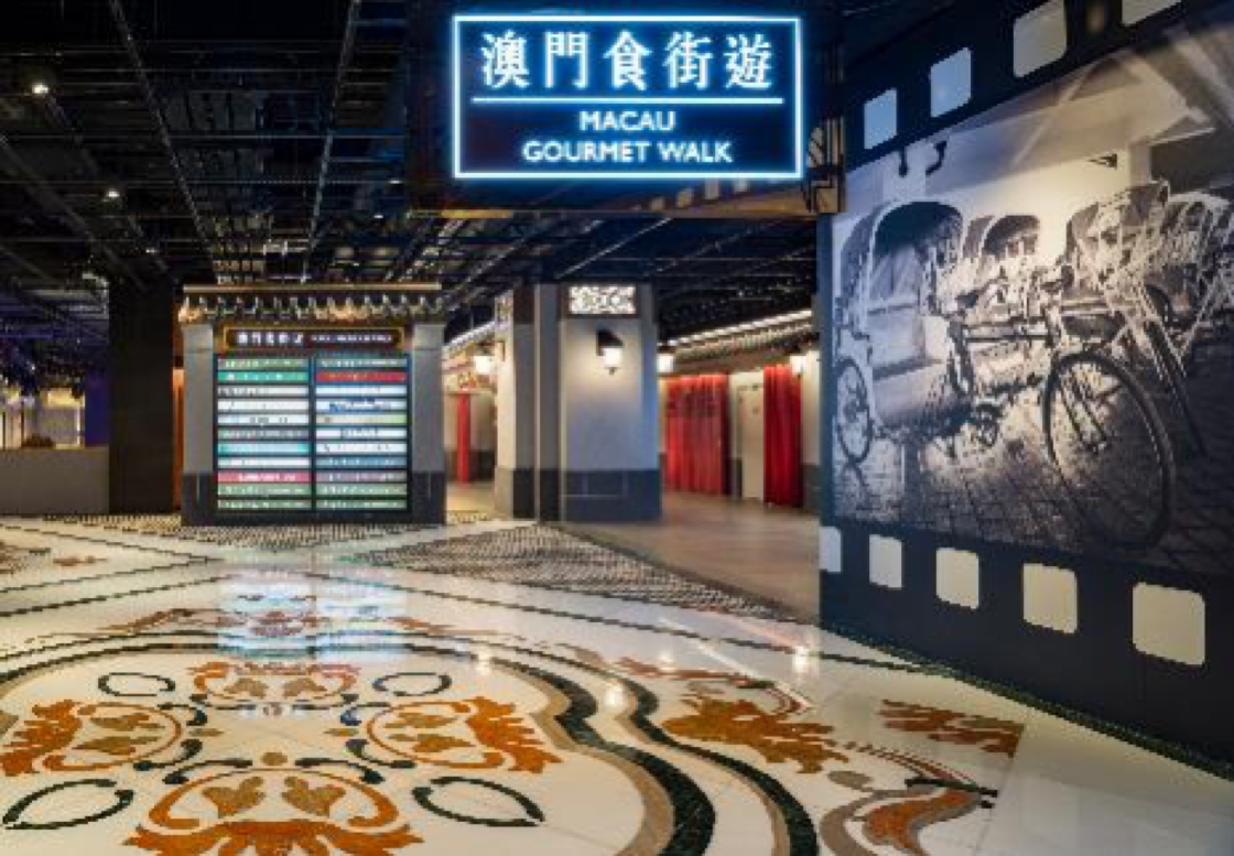 Studio City's Macau Gourmet Walk