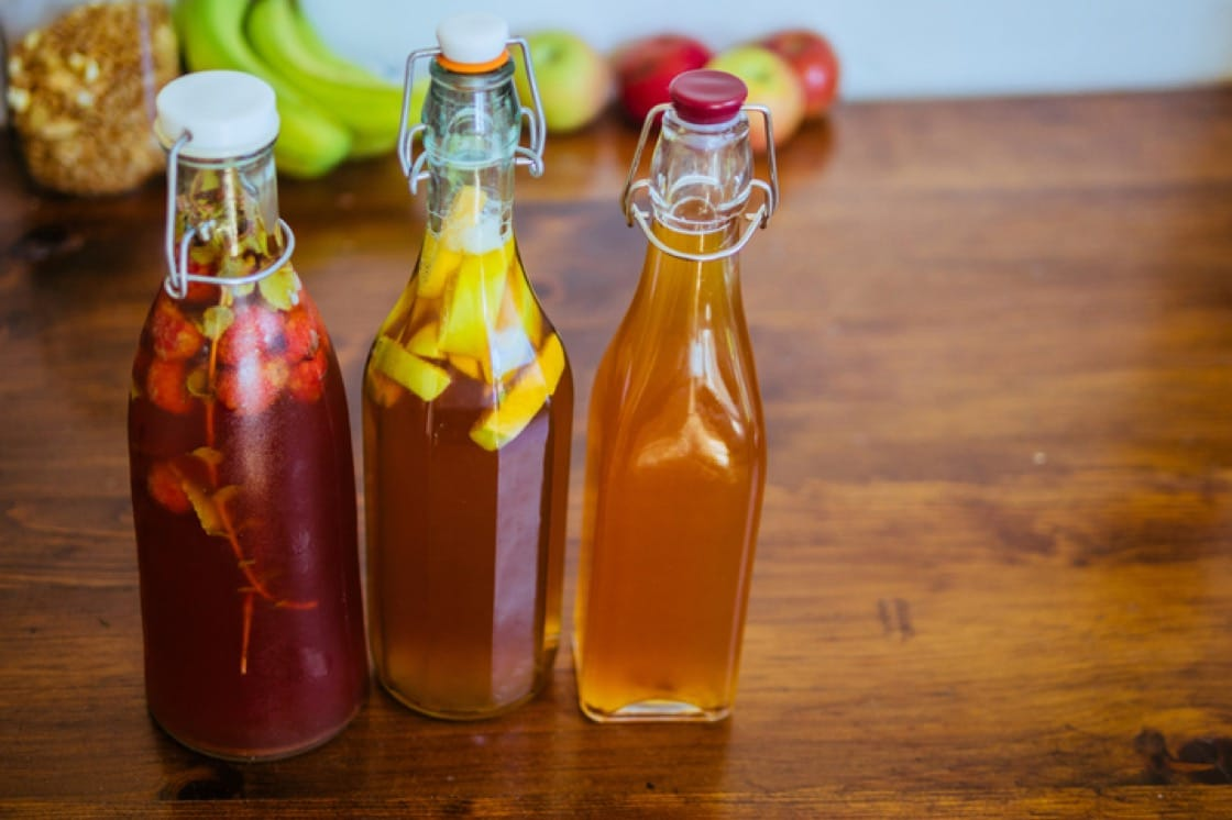 These air-tight flip-top glass bottles are ideal for second fermentation when carbonation is formed (Pic: ShutterStock)