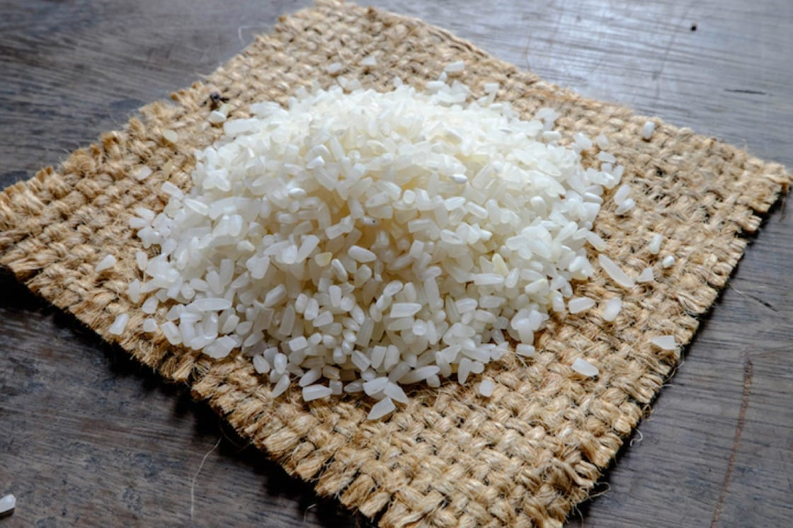 Broken rice is a by-product from the rice milling process. (Credit: Shuttlestock)