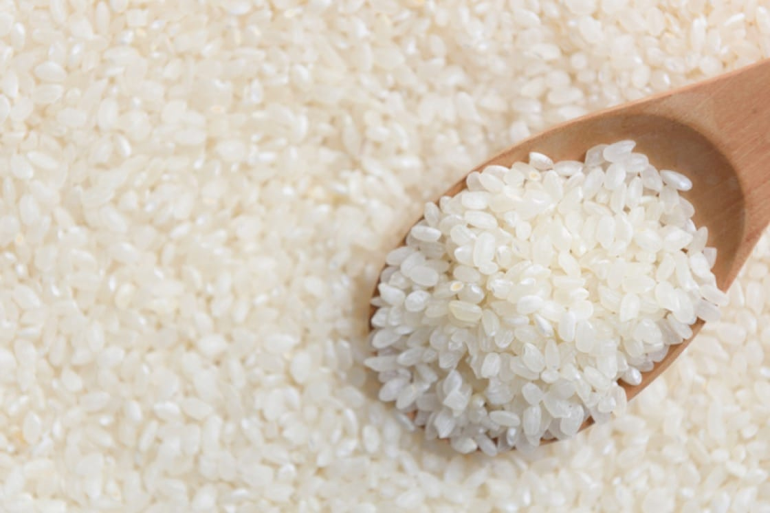 Koshihikari rice is commonly used in sushi and Japanese rice bowls. (Credit: Shuttlestock)