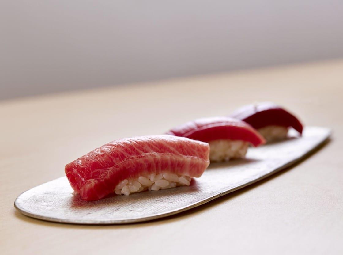 Edomae-style sushi are one of chef Tomoo Kimura's specialities. (Credit:  Sushi Kimura)