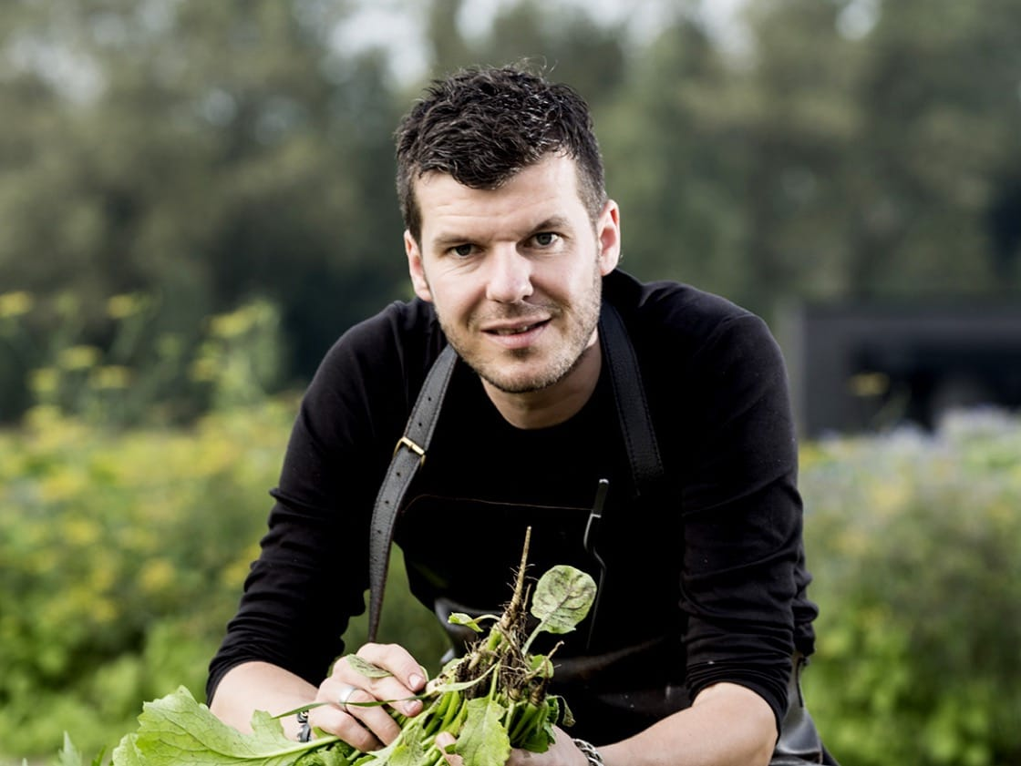 Gert De Mangeleer from three-Michelin-starred Hertog Jan in Belgium