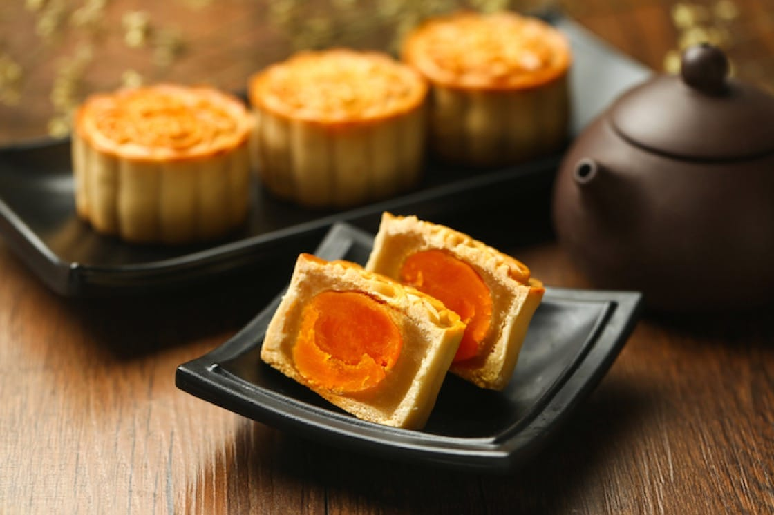 The commonly seen variant of mooncakes come from the Cantonese. (Credit: Shuttlestock)