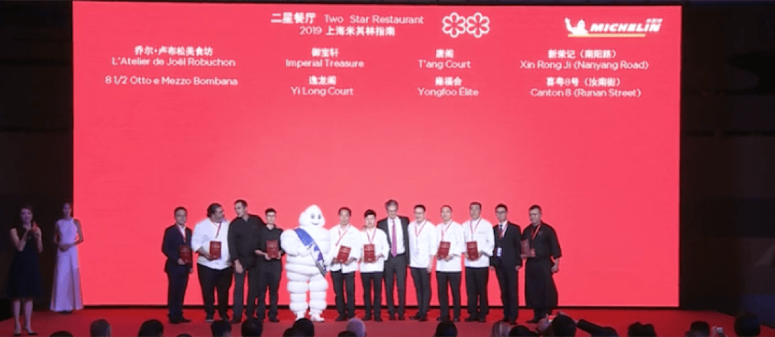 Michelin Guide Shanghai 2019 Selection