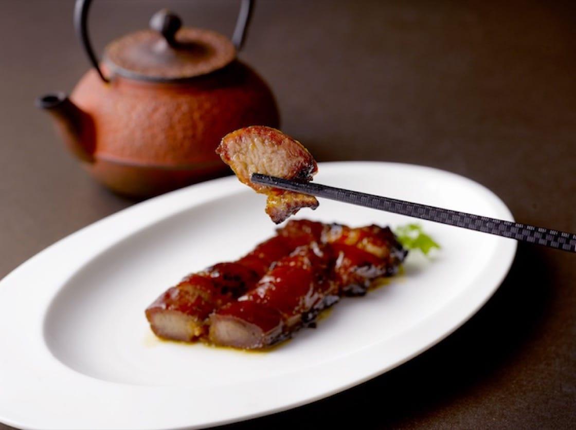 果木黑豚叉烧。(照片提供:江南春)