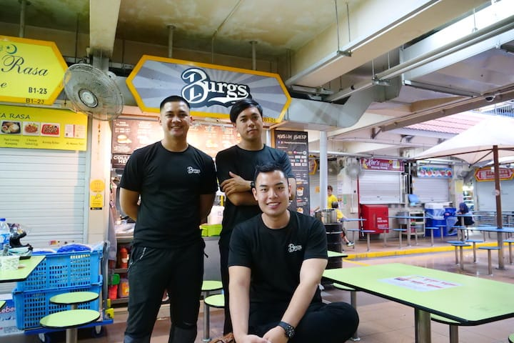 Clockwise from left: Muhd Shah Indra Jasni, Mohd Ridzuan Ayob and Lee Syafiq Muhd Ridzuan Lee set up Project Warung to change up Singapore's halal dining scene (Pic: MICHELIN Guide Digital)