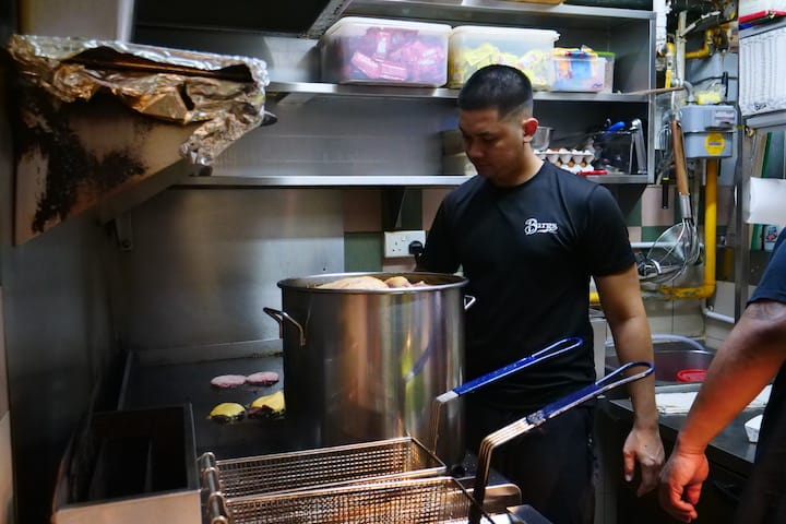 The pace and intensity of working in a hot hawker centre was a culture shock for the trio behind Project Warung (Pic: MICHELIN Guide Digital)