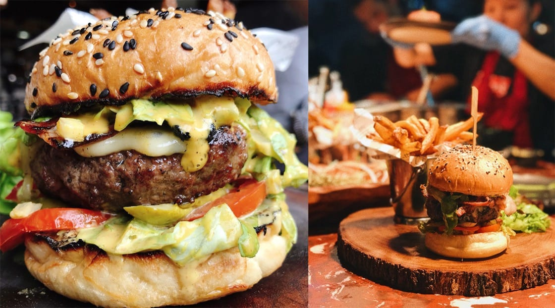 Everyone deserves a burger treat at Cocotte.