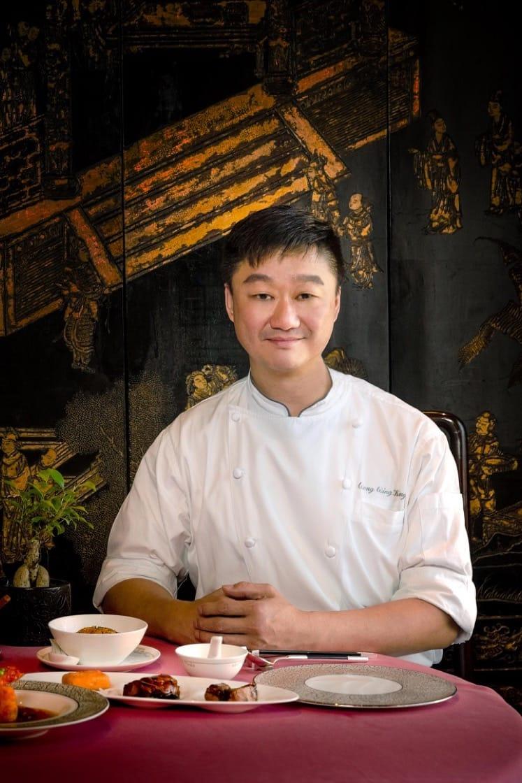 香港文華東方酒店中菜行政總廚黃永強。(圖片來源:文華東方提供)