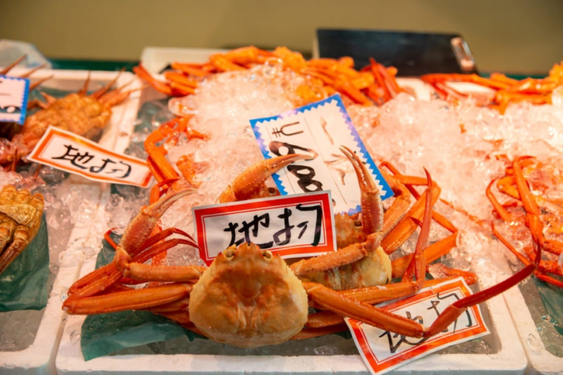 Tottori produces the largest catchment of crabs in Japan (Pic: ShutterStock)