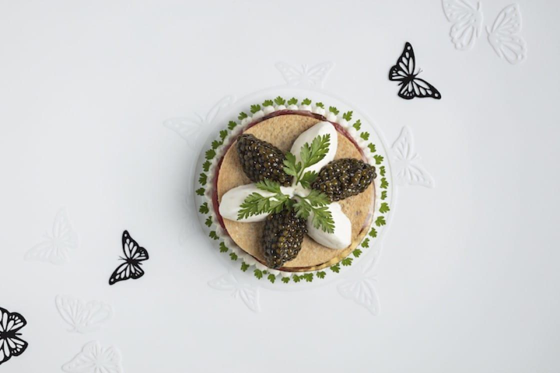 菜色餐碟上總有一些蝴蝶在飛舞,當中傳遞了 Vulin 把最好作品呈獻給客人的理念。
