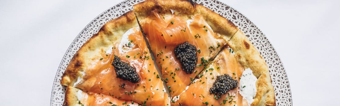 My Signature Dish: Wolfgang Puck's Smoked Salmon Pizza