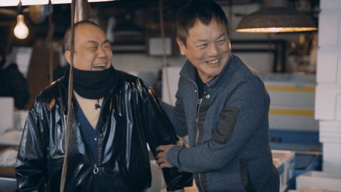 吉武正博(右)还清楚记得第一次踏入筑地市场那一刻的兴奋。