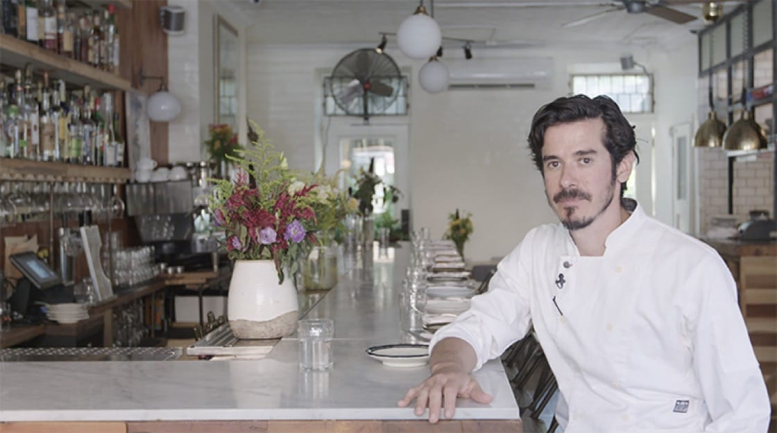 Tomer Blechman is the chef and owner of Miss Ada in New York City.