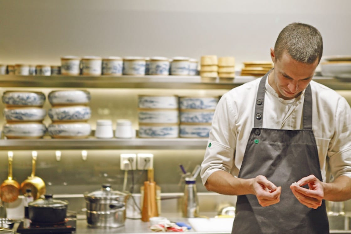 Max Levy, chef-owner of Okra Hong Kong. (Photo credit: Okra Hong Kong)